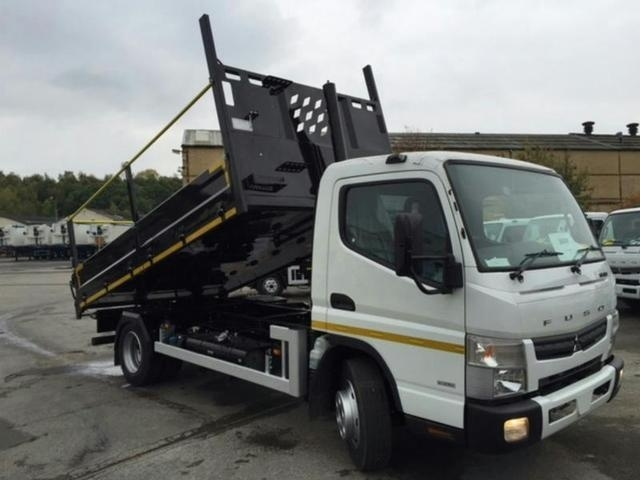 MITSUBISHI FUSO Canter 7C15 Euro 6 with Fruehauf Utility 2 Insulated Tipping Body