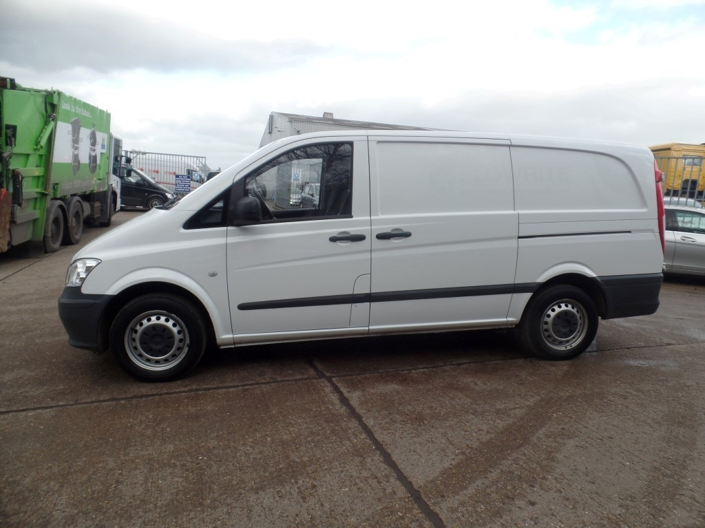 mercedes benz vito 113cdi lwb panel van solid doors. Black Bedroom Furniture Sets. Home Design Ideas