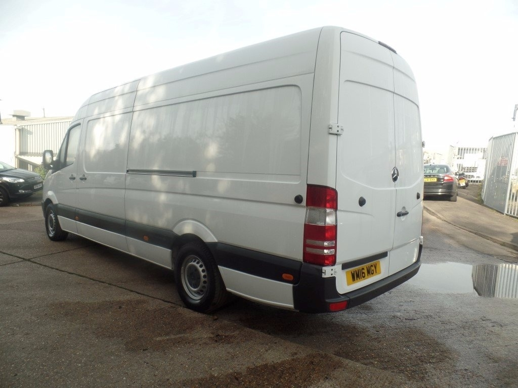 Mercedes benz sprinter 313cdi lwb panel van for Mercedes benz sprinter truck