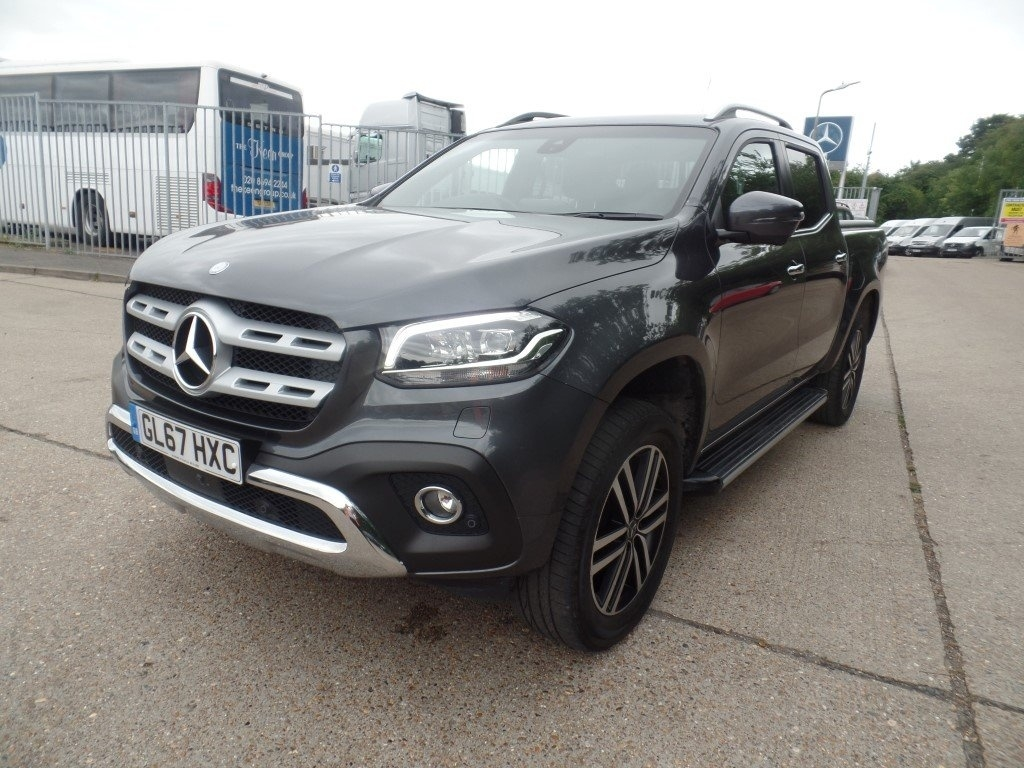 Mercedes-Benz X Class 2.3 250d Power 4MATIC 4dr