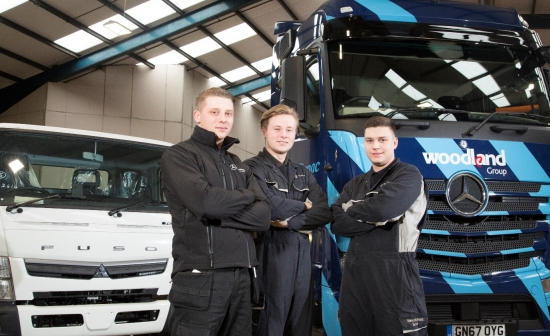 New Stars Are Born at Mercedes-Benz Dealer Sparshatts Truck & Van