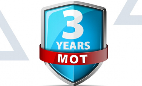 First MOT Test to Remain at Three Years