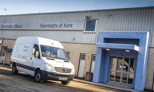 Mercedes-Benz Sparshatts Sittingbourne