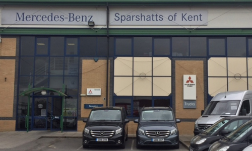 Mercedes-Benz Sparshatts Dartford