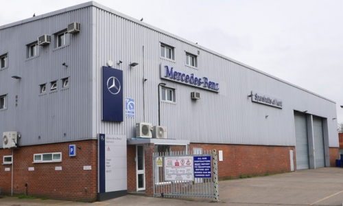Mercedes-Benz Sparshatts Tonbridge