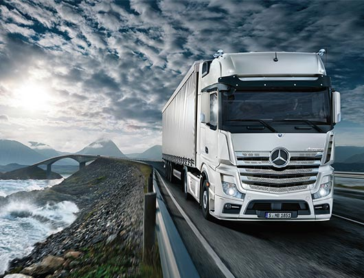 New Actros | Mercedez-Benz | Sparshatts of Kent