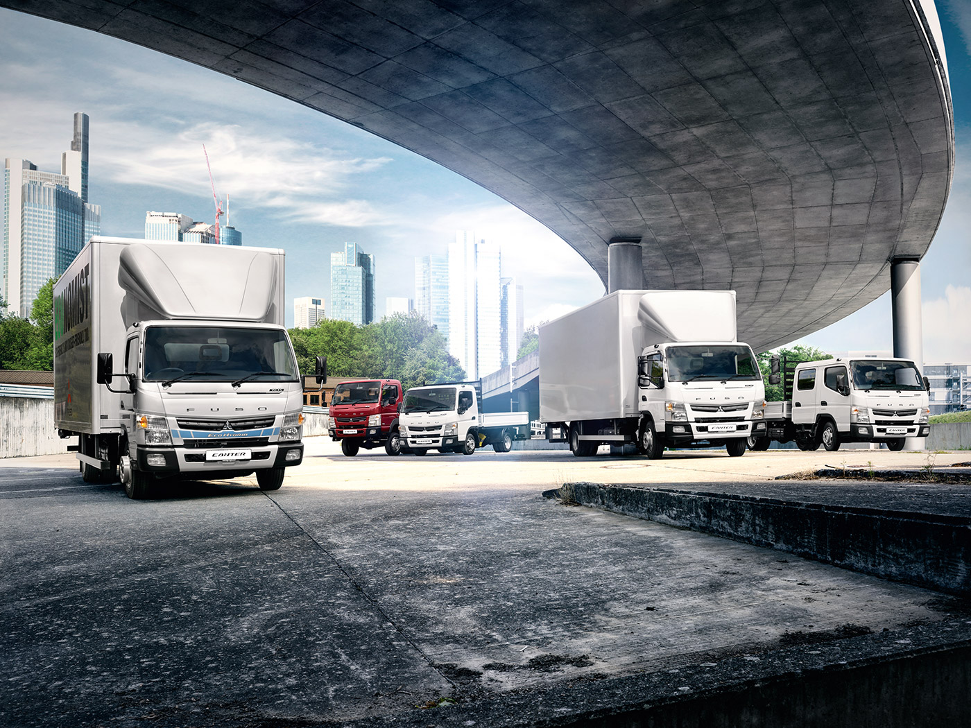 Mitsubishi Fuso Canter | Sparshatts of Kent