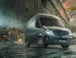 New Sprinter | Mercedez-Benz | Sparshatts of Kent